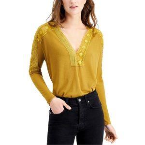 NWT Free People Lola Long-Sleeve T-Shirt